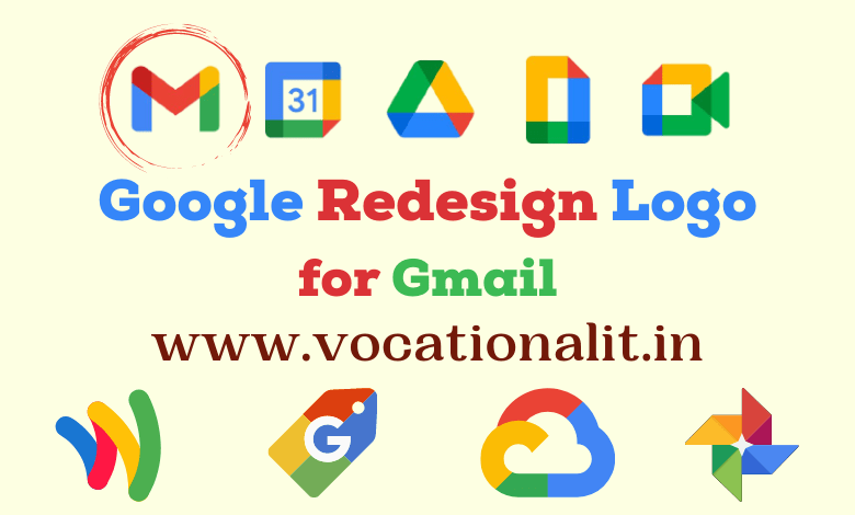 gmail new logo redesign