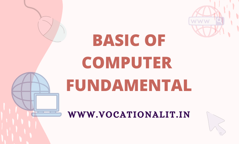 basic knowledge of computer